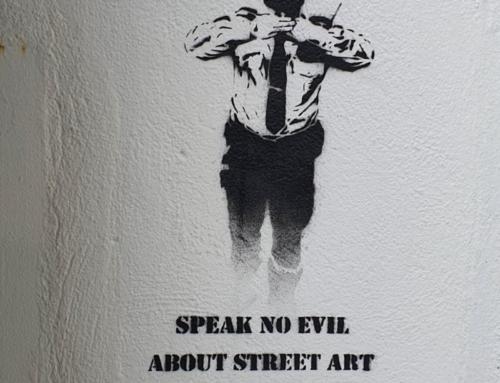 Speek no evil about street art