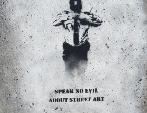 Speek no evil about streetart