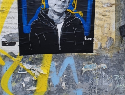 Portrett av Greta Thunberg